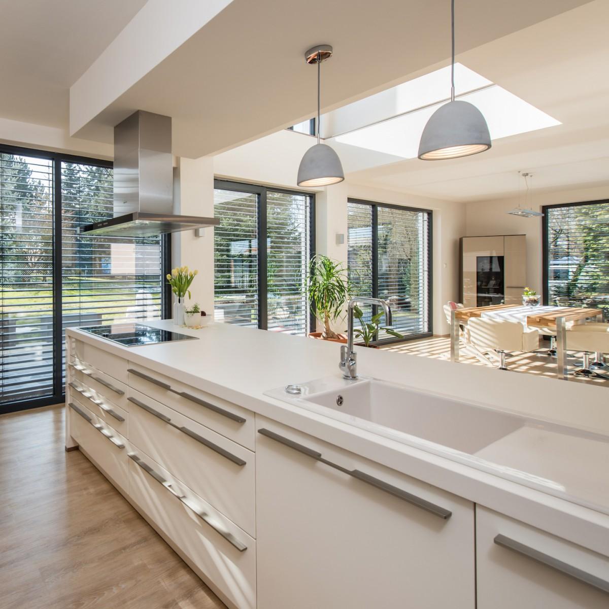 Offene Küchengestaltung: Wohnhaus Wehner / Graul