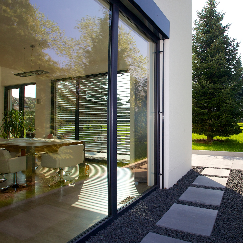 wohnhaus wehner / graul | gumpelstadt | lehrmann und partner - Moderner Eingangsbereich Aussen
