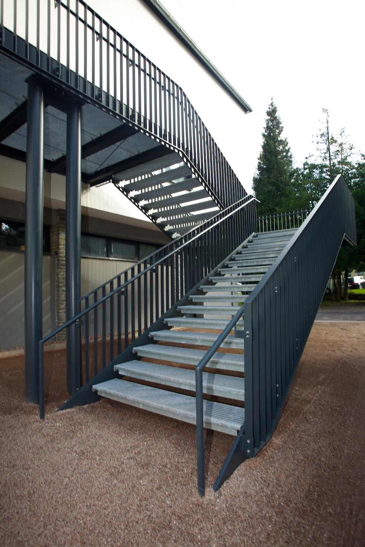 Treppe zum Obergeschoss | Kulturhaus | Ruhla