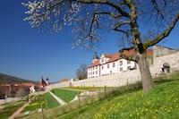 Terrassengarten Schloss Wilhelmsburg Schmalkalden