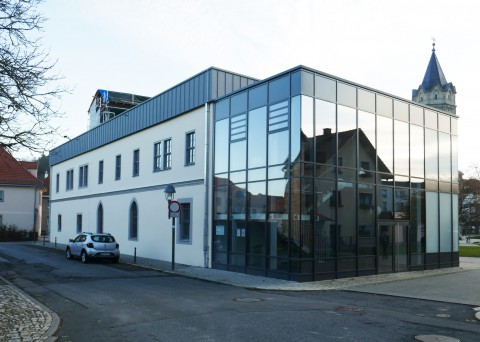 Denkmalgerechte Sanierung des Rathaus in Stadtilm