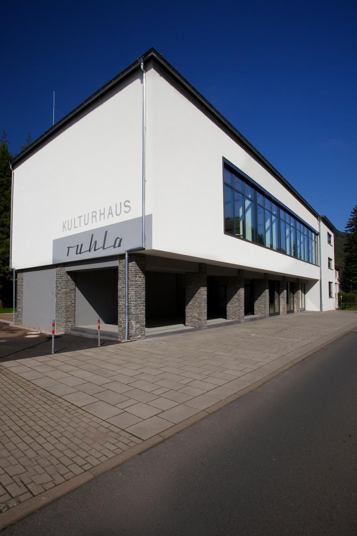 Ansicht von Aussen   Kulturhaus   Ruhla