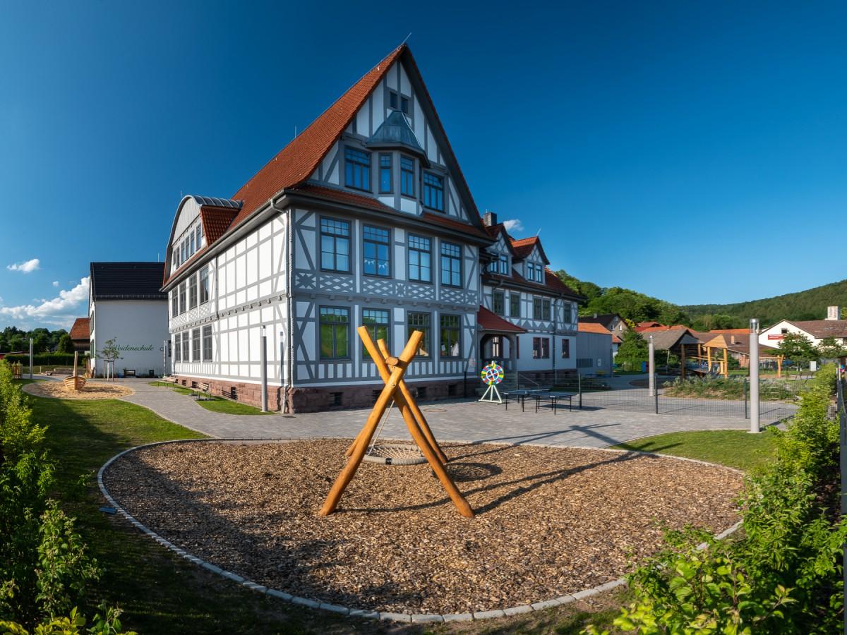 Weidenschule und Kinderbildungszentrum in Schmalkalden